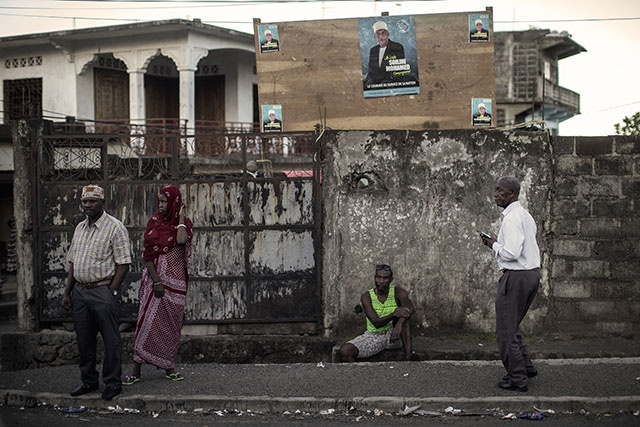 Le sortant Azali grandissime favori de la présidentielle aux Comores