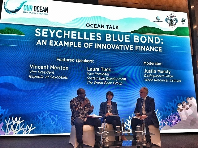 VP of Seychelles, in Britain, told that Commonwealth is committed to Blue Economy