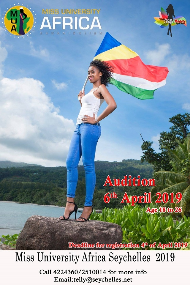Young Seychellois woman sought for entry into Miss University Africa pageant