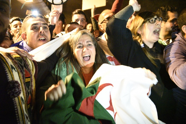 Algerians demand sweeping change as Bouteflika era ends