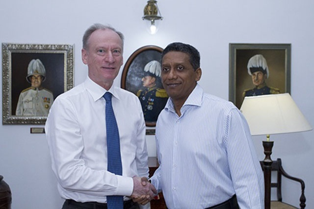 Le Conseil de Sécurité de la Russie, en visite de travail aux Seychelles