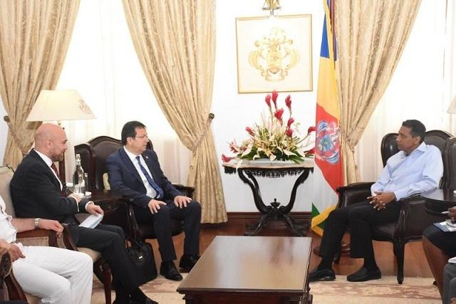 President of Seychelles invited to visit Turkey, visiting delegation says