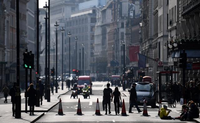 Climate demonstrators block London roads