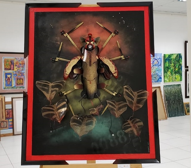 'Art in Seychelles Now' exhibiting new works from 15 artists