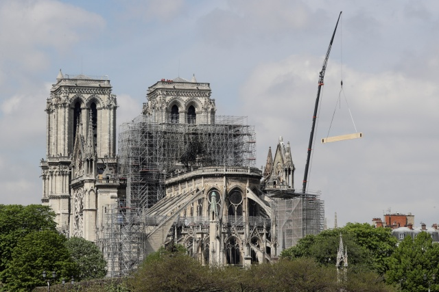 France launches global contest to replace Notre-Dame spire