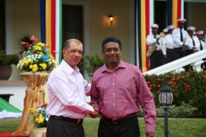 2 of Seychelles' presidents -- Faure and Michel -- to be recognised by National Geographic for environmental work