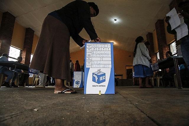 Les Sud-Africains aux urnes pour élire leurs députés, l'ANC favori