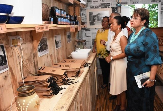 Branded goods now available for visitors of Seychelles' Domaine de Val des Près