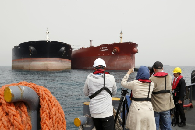 Saudi oil tankers hit by 'sabotage attacks' as Gulf tensions soar