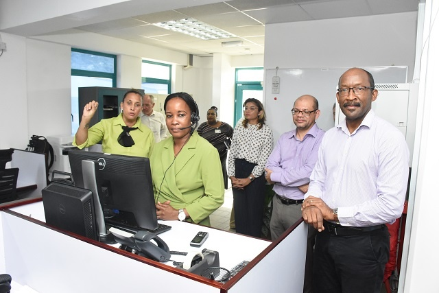 Need to call a lot of people? New call centre opens in Seychelles