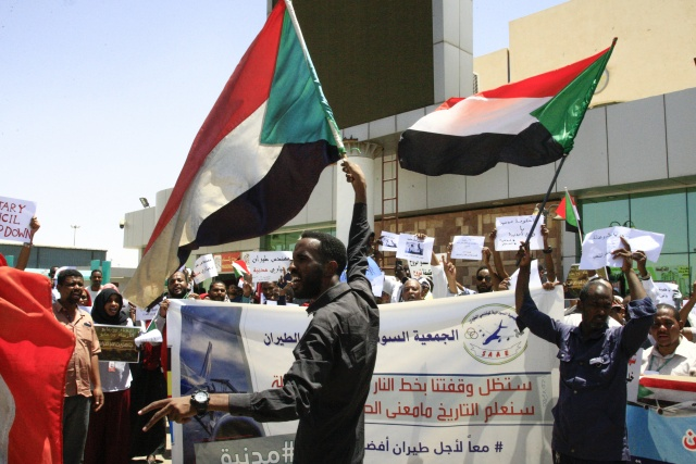 Sudan braces for strike as protesters pile on pressure
