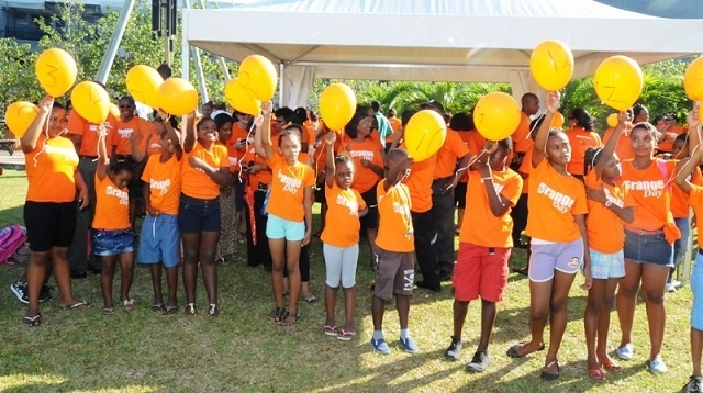 A campaign to eliminate gender-based violence is launched in all primary schools in Seychelles