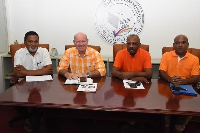 One Seychelles, le dernier parti politique, à s'enregistrer auprès de la Commission électorale des Seychelles