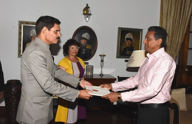 Seychelles welcomes new High Commissioner of India, who highlights long list of development projects