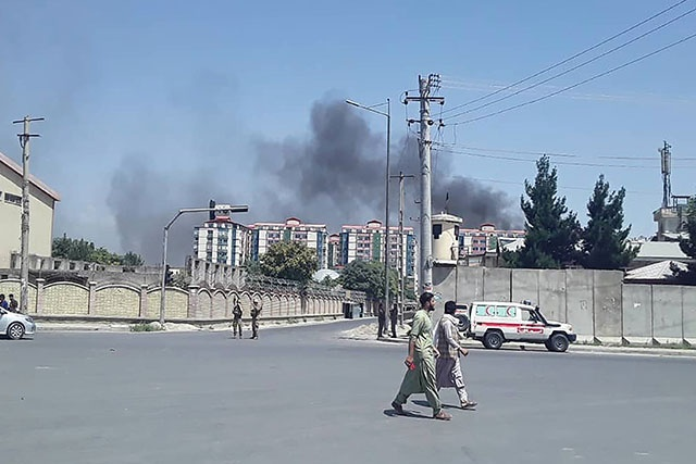 Afghanistan: un attentat taliban fait au moins 65 blessés à Kaboul