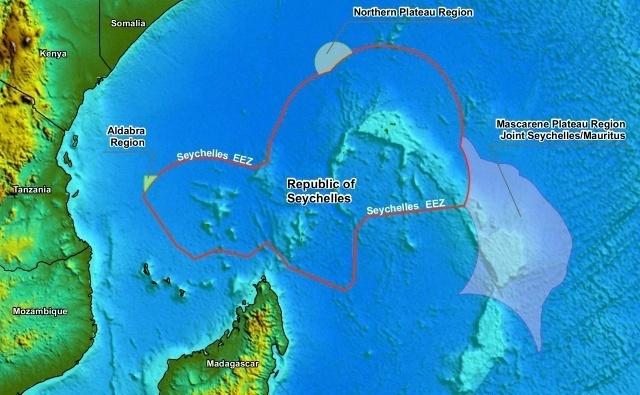 Les Seychelles et Maurice négocient une approche commune du plateau des Mascareignes