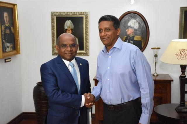 Maldives seeks Seychelles' support to host Indian Ocean Island Games in 2023
