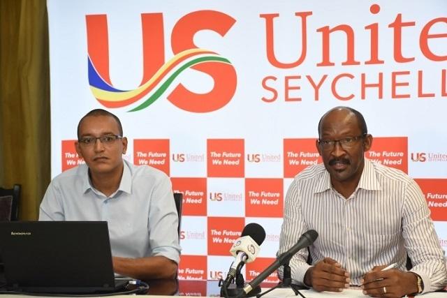 Le président Danny Faure a déclaré à son parti « United Seychelles » qu'il se présenterait en 2020