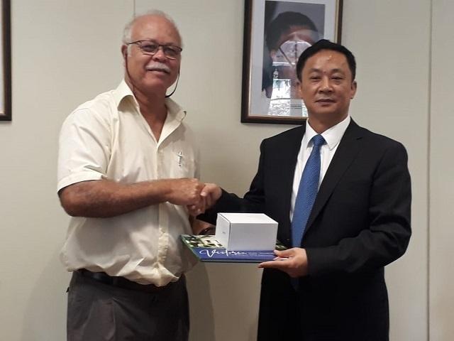 La capitale des Seychelles renouvelle ses relations de jumelage avec Meizhou, Chine