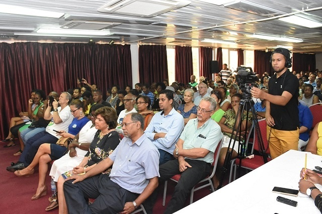 La coalition de l'opposition des Seychelles annonce leur processus de sélection des candidats à la présidentielle pour 2020