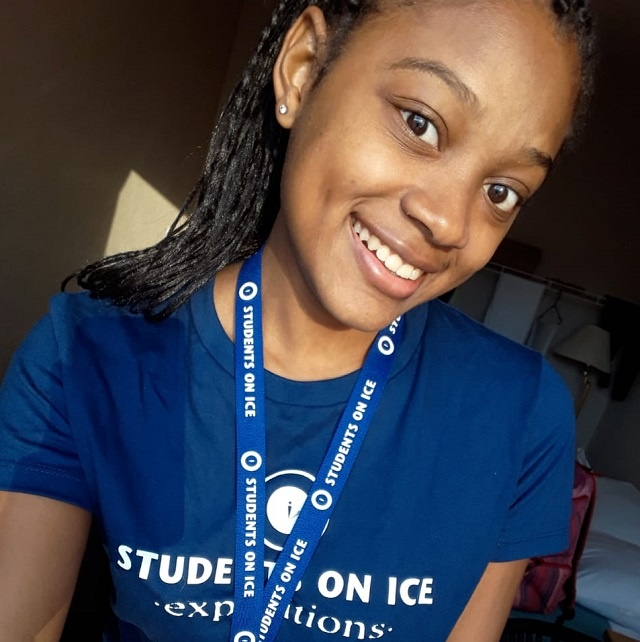 Seychellois teen trades the equator for the Arctic in 'Students on Ice' tour