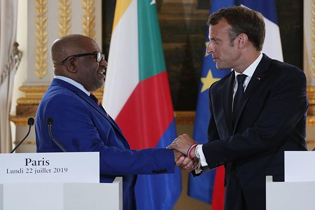 """Le président comorien veut une circulation des personnes """"facilitée"""" avec  Mayotte"""