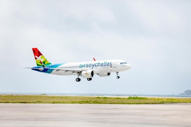 Air Seychelles adds a new Airbus A320neo to its fleet