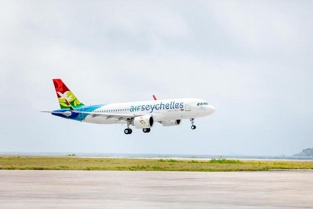 Air Seychelles ajoute le nouvel Airbus A320neo à sa flotte