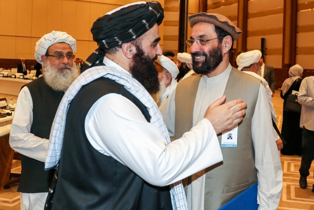 US, Taliban push for peace in day 2 of talks