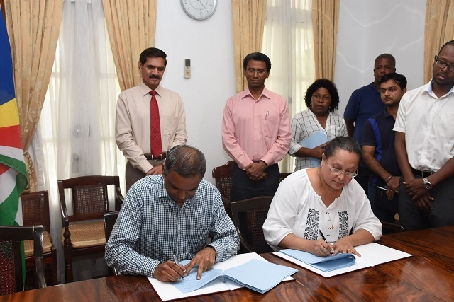 $ 2.6 million donated by India for projects to benefit all Seychellois citizens, official says