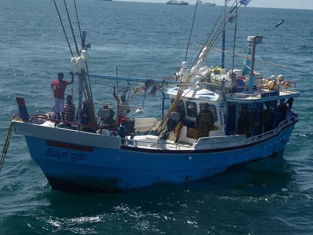 7 Sri Lankais soupçonnés de pêche illégale sont incarcérés aux Seychelles