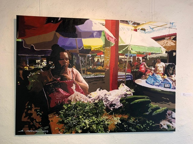 Museum in Germany permanently displaying 6 pieces by Seychellois artist