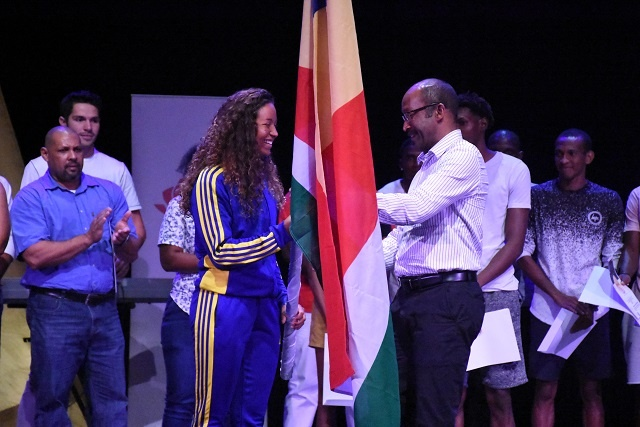 Golden swimmer Felicity Passon to carry Seychelles' flag at African Games in Morocco