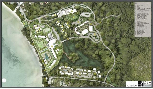 Inquiétudes soulevées concernant l'accès à la plage et la déviation de la route pour un projet hôtelier aux Seychelles