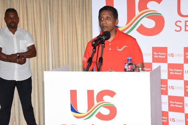 United Seychelles approuve le président Faure comme candidat du parti pour les élections de 2020