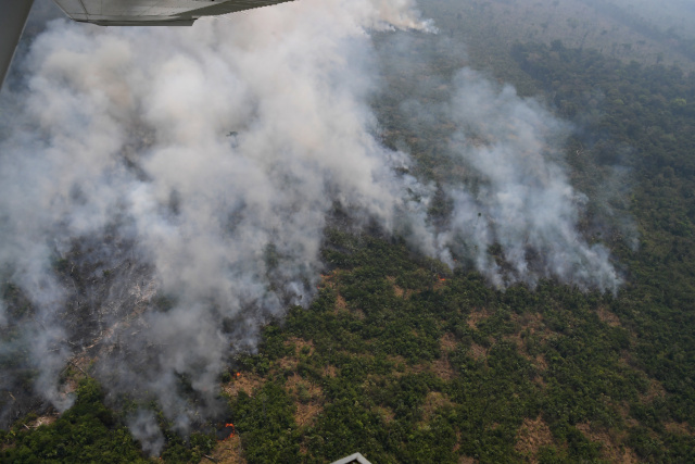 Brazil rejects G7 aid to fight Amazon fires: govt