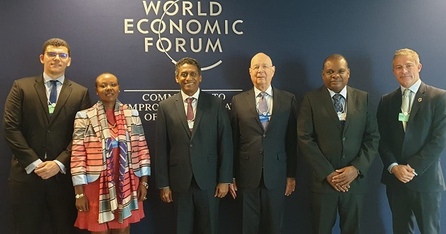 Seychelles' challenge: Develop and preserve environment, President tells World Economic Forum