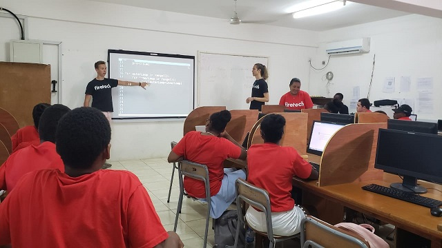 Coding boot camp in Seychelles takes students on deep dive into website development
