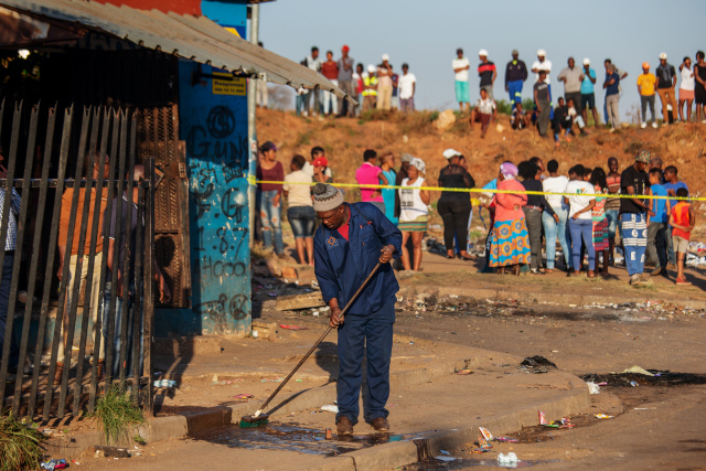 S.African businesses reeling after xenophobic onslaught