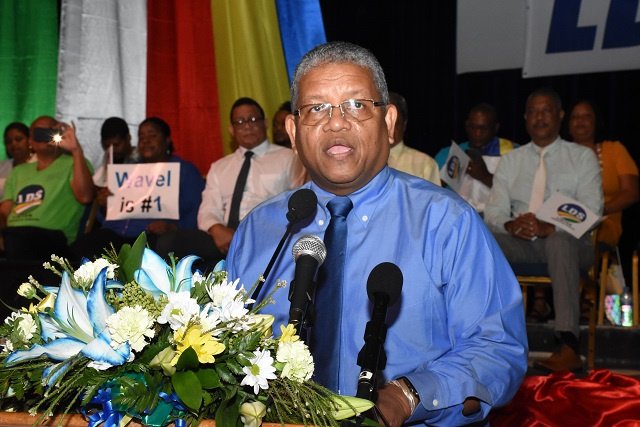 Seychelles' opposition coalition names Ramkalawan as presidential candidate