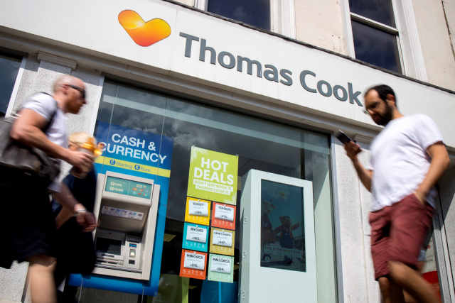 Britain's Thomas Cook scrambles for $250 million to avert collapse