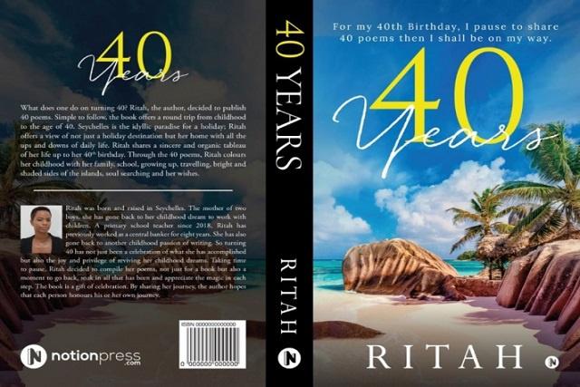 Une seychelloise lance un nouveau livre, racontant son histoire à travers des poèmes, un pour chaque année de sa vie