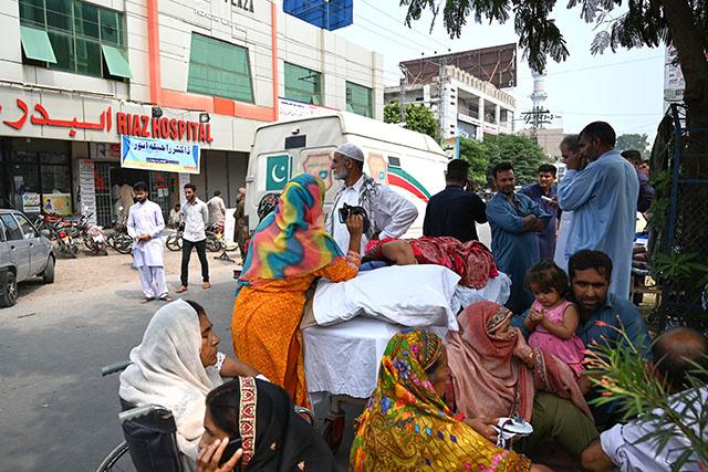 Panique après une nouvelle secousse au Pakistan