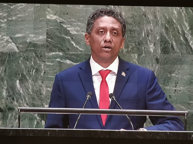Seychelles at the UN: Young people will play crucial role in climate change fight