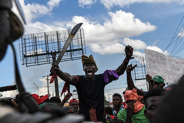"Haïti : l'opposition manifeste contre ""l'ingérence internationale"""