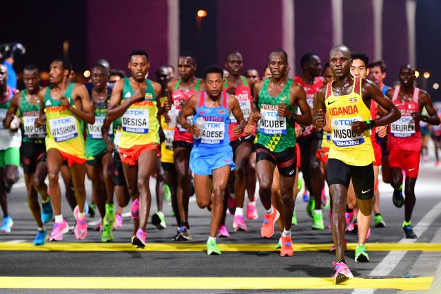African diaspora cheer on Doha athletics championships