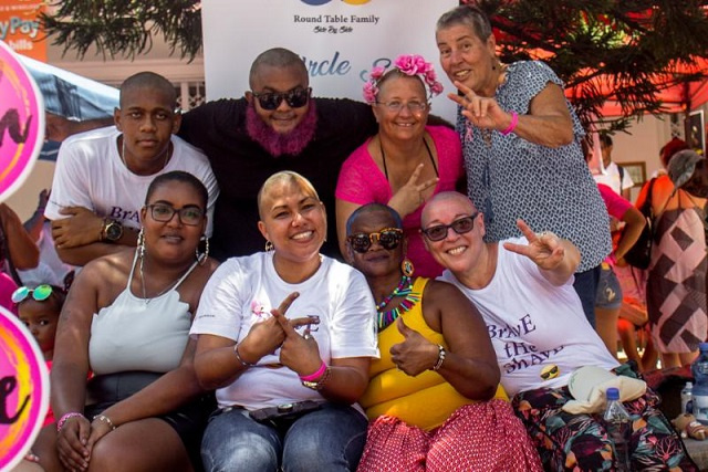First 'Brave the Shave' event in Seychelles raising funds for cancer centre