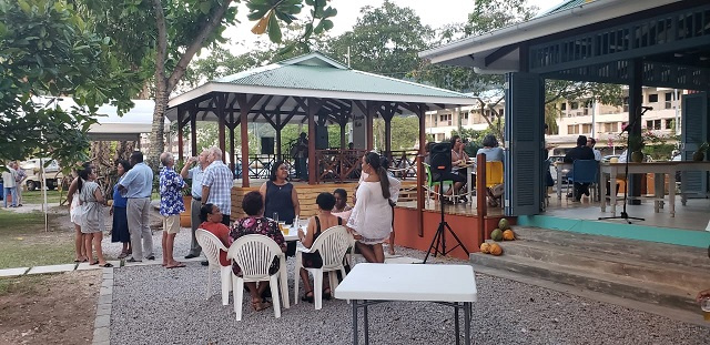 New waterfront garden in Seychelles' capital a place for live entertainment, visual artists