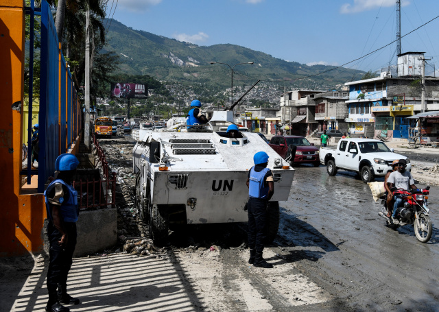 UN ends Haiti peacekeeping operations, urges end to crisis