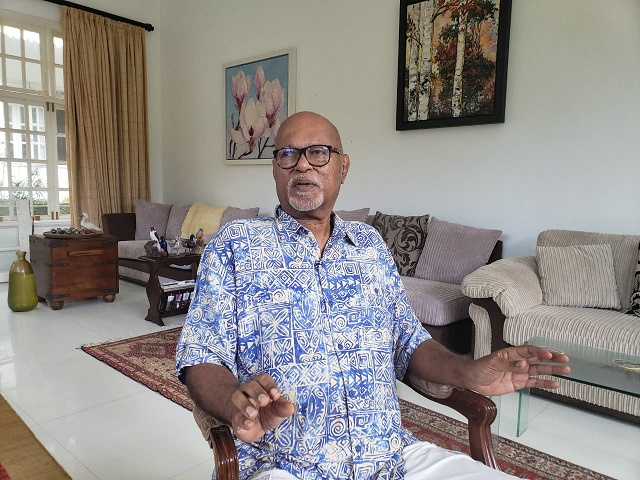 Leader of Lalyans Seselwa, a potential presidential candidate, returns to Seychelles after surgery abroad
